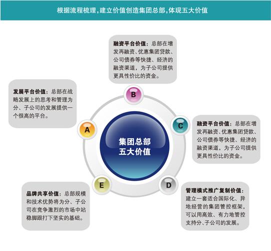 集团类咨询服务 - 集团组织流程管理咨询