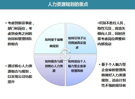 集团人力资源规划